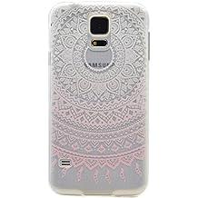 RUIST Funda Samsung Galaxy S5,Cáscara delgada funda de silicona TPU silicona suave de goma suave de parachoques de la cubierta del caso para Samsung Galaxy S5 [Shock-Absorción] [Anti-Arañazos]
