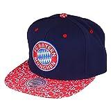 FC Bayern Baseballcap Snapback navy/rot