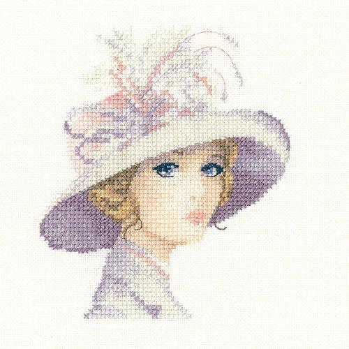heritage-crafts-cross-stitch-kit-john-clayton-elegance-miniatures-amelia