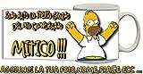 Tazza Compleanno Homer Simpson Personalizzata con nome,frase,foto Idea Regalo