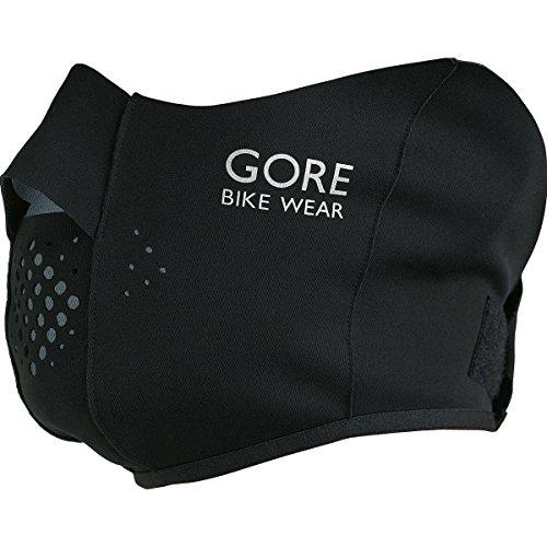 GORE WEAR Erwachsene Maske Universal Windstopper Soft Shell Gesichtswärmer, Black, one Size