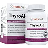 Thyroid Support Supplement - MONEY BACK GUARANTEE & FREE SHIPPING - Natural Herbal Formula To Improve Thyroid Function With L-Tyrosine, Kelp (Iodine), Ashwaganda (Withania), Selenium, B-12 and Vitamin D to Support a Healthy Metabolism, Reduce Fatigue, Promote Weight Loss and Increase Energy - 60 Capsules