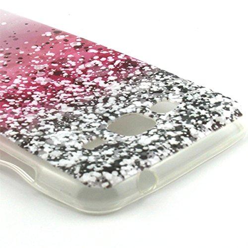ANNNWZZD Ultra Dünne Silikon stylische Schutzhülle Flexibel Weich TPU Case Cover Bumper Anti-Scratch Löschen Hülle für Samsung Galaxy J3 (2016) ,A03 A03
