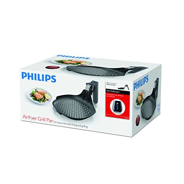 Philips Viva Collection Hd991021 Zubehr Fritteuse Zubehr Fritteuse Philips Hd922 X Hd923 X Schwarz Aluminium