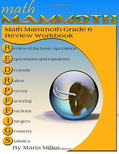 Math Mammoth Grade 6 Review Workbook