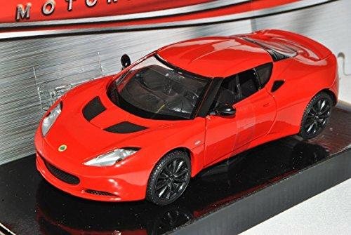 lotus-evora-s-coupe-rot-ab-2009-1-24-motormax-modell-auto