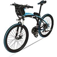GTYW 2063/5000 Voiture électrique Pliante De Montagne De Bicyclette De Vélomoteur Voiture électrique Pliante De Montagne De Voiture électrique De Lithium DE 26 Pouces,B-48V12ah