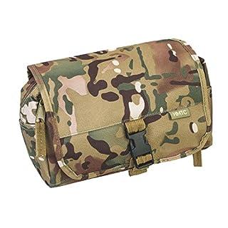 Highlander Mens Wash Kit Bag Travel Toiletry Toilet Bag Military Surplus Army