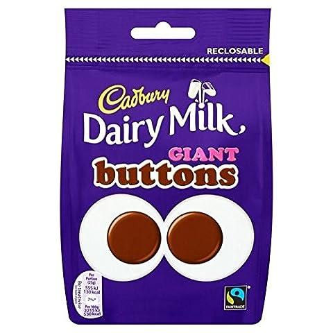 Cadbury Boutons Géants 119G - Paquet de
