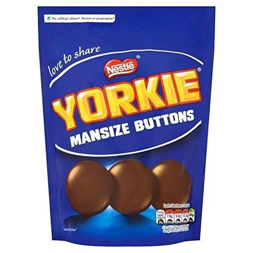 Nestle Yorkie Homme Boutons De Taille 120G - Paquet de 2