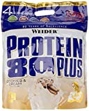 Weider, 80 Plus Protein, Cookies & Cream, 1er Pack (1x 2 kg)