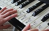 Tastiera o pianoforte adesivi fino a 61set di chiavi per il bianco e nero chiavi, laminato Psbw 61