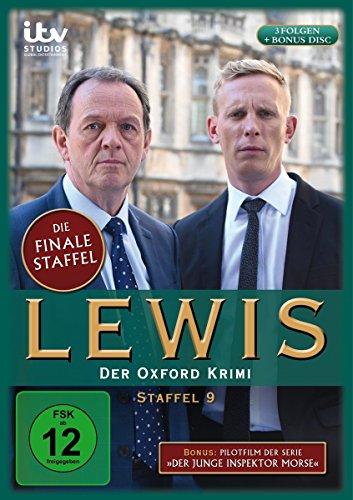 Lewis - Der Oxford Krimi - Staffel 9 + Pilotfilm