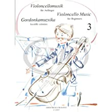 Cello Music for Beginners 3 Vlc/P