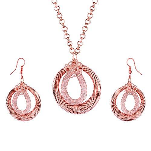 Tichino Brass Pendant for Women
