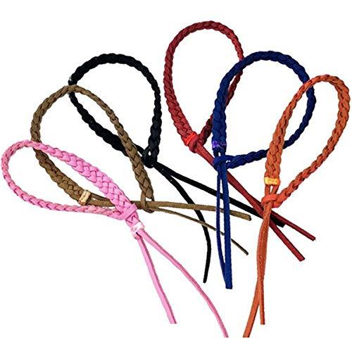 ECYC 5 stücke Mückenschutz Armbänder, Seil Abweisend Leder Armband für Kinder/Erwachsene Reise persönlichen Schutz