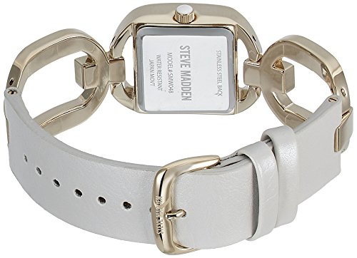 Steve Madden Analog White Dial Women's Watch – SMW048G-WT