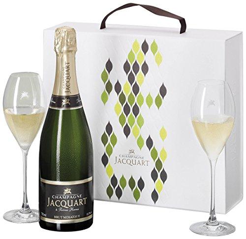Champagne Jacquart Mosaique & Original Gläser (1 x 0.75 l)