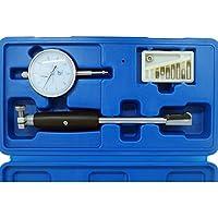 TrAdE shop Traesio CALIBRO MICROMETRO MISURAZIONE DIAMETRO INTERNO FORI SONDA 18-35mm 0-10mm 0.01mm