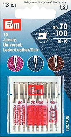 Jersey Sewing Machine Needles Mixed 70-100 10pk