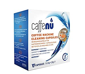 Caff Eenu Compatible Black Cleaning Capsules for Nespresso® * Machine