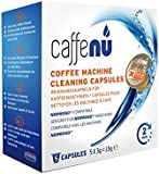 Caffe Nu Nespresso Coffee Machine Cleaning Capsules, Pack of 5