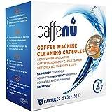 Limpieza en seco CaffeeNu - compatible con cápsulas de café para Nespresso* Robot de cocina, 5 Kapseln