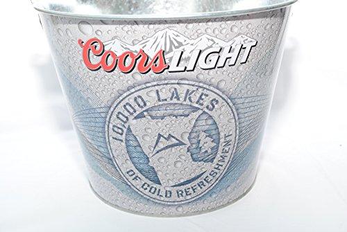 coors-lite-10000-lakes-beer-bucket-galvanised-tin-with-handle