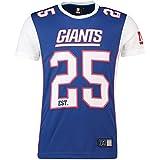 Majestic New York Giants T-Shirt/Tee - Poly Mesh - NFL 2019 - Royal - L