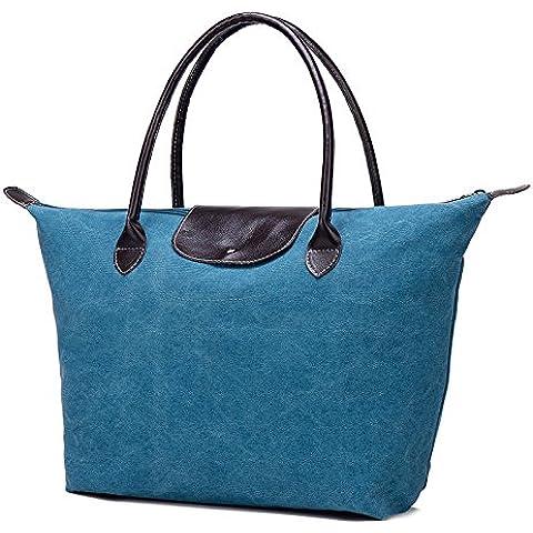 Da Wu Jia Bolso mujer versión coreana de bolsas de tela bolsas de hombro mujer bolsos casual bolsos fresco ,