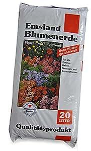 Blumenerde 20 Liter Emsland® Blumen Erde Pflanzerde Pflanzen