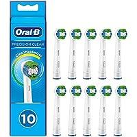 Oral-B Precision Clean Aufsteckbürsten mit CleanMaximiser-Borsten für eine optimale Reinigung, 10 Stück