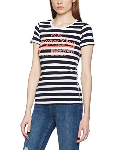 Superdry Women's Vintage Logo Stripe T-Shirt