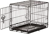 AmazonBasics Single-Door Folding Metal Dog Crate - Extra Small