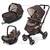 Concord Neo Travel-Set Toffee Brown