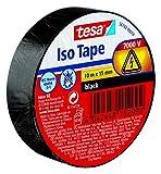Tesa 56192-00010-02 Nastro Isolante Universale, Nero