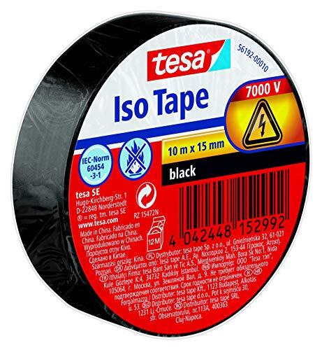 Tesa Isolierband, schwarz, 1 Rolle -