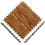 MMM Schiuma Mat giuntura grande 60 * 60cm Camera da letto Tappetino Tappetino soggiorno stuoia strisciante Mat 6PCS (Colore : #1, dimensioni : 60 * 60 * 1.2cm/6pcs)