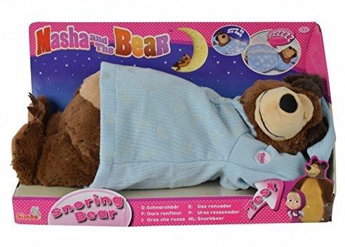 Simba 109301008 - Mascha und der Bär Schnarchbär