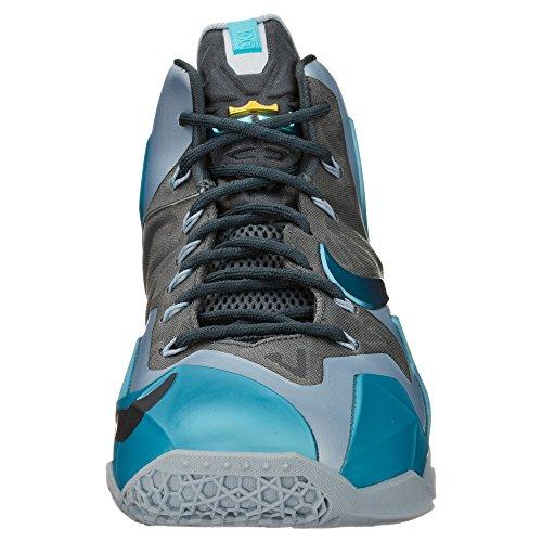 NIKE LeBron XI Gamma Men's-Scarpe da basket, colore: blu Blu (blu)