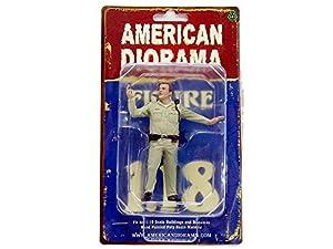 American Diorama-Policía Serie Highway Patrol-3Figura, 77465, (Escala 1/18