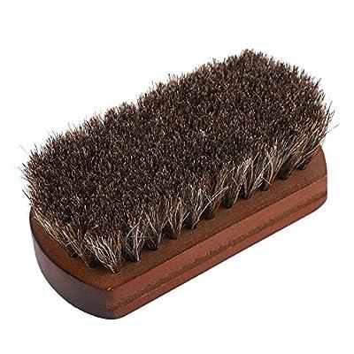 Chaussures bottes polissage polissage brosse de nettoyage avec base en bois dépoussiérage chaussure chaussure accessoire