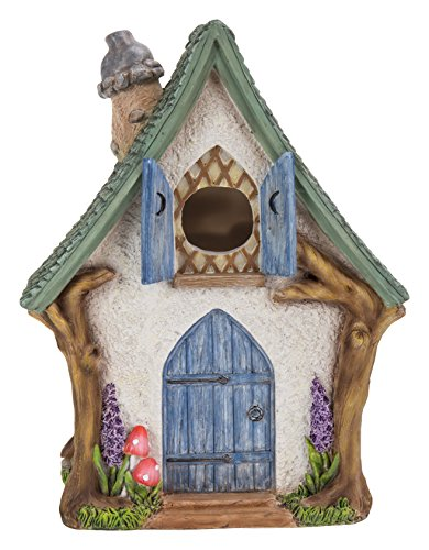 Vivid Arts Miniatur-Welt–Woodland Cottage Vogelhaus (MW31–002) (Cottage Outdoor-möbel)
