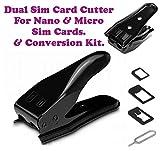 Dual 2 in 1 Micro Sim Cutter with Nano S...