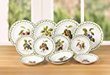 12 Piece Orchard Fruit Dinner Set