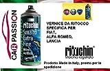 Carpassion Kit Lackstift 601 Schwarz Cinema Donatello FIAT Alfa Romeo Lancia Jeep Verlackierung Auto BOMBOLETTA Spray 200 ml