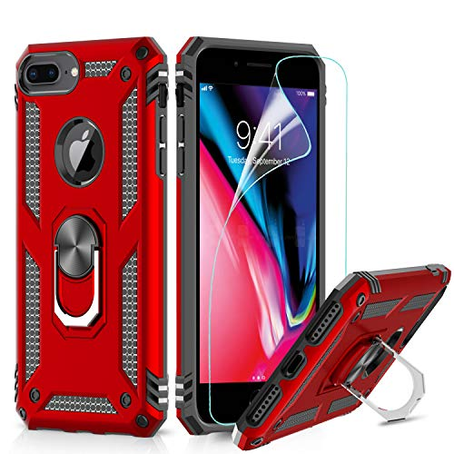 LeYi Funda iPhone 6 Plus / 7 Plus / 8 Plus Armor Carcasa
