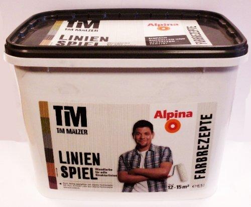 Preisvergleich Produktbild Tim Mälzer Farbrezepte,  Linienspiel Strukturwandfarbe,  Wandfarbe,  matt 6, 5L