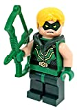 LEGO Super Heroes - Minifigur Green Arrow mit Bogen aus Set 76028 Darkseid Invasion
