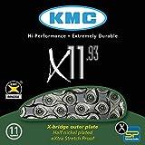KMC Ketten X-11-93 114 Glieder, Silber, One Size